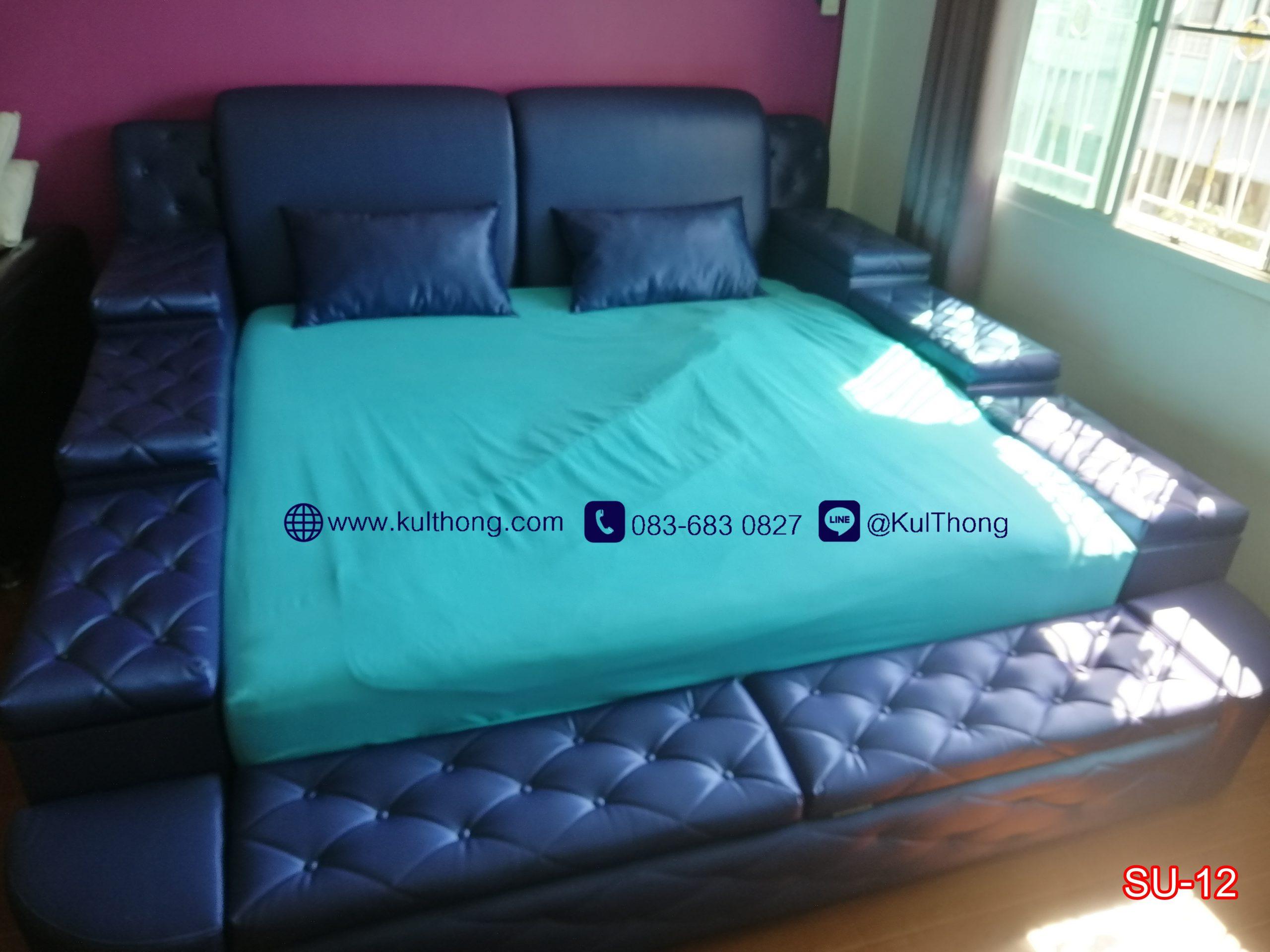 เตียงกล่อง เตียงมีที่เก็บของ เตียงเปิดฝา เตียงกล่องดีไซน์