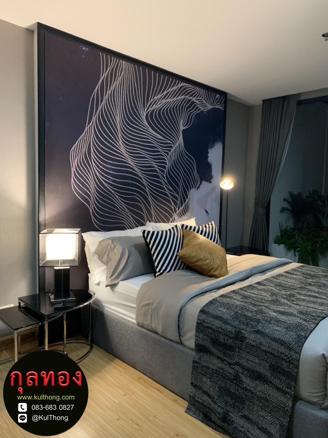 เตียงดีไซน์ เตียงผ้า ฐานรองที่นอน